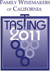 Logo for Family Winemakers of California 2011 Tasting Event
