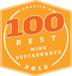 100 Best Wine Restaurants 2012