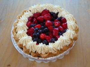 Mixed Berry Pie at Simply Pies
