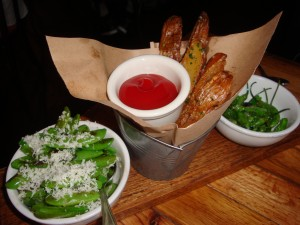 Trio of Side Dishes at The Copper Onion