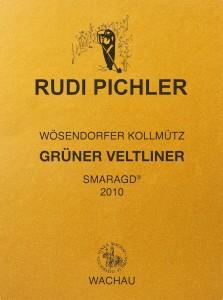 Rudi Pichler Gruner Veltliner