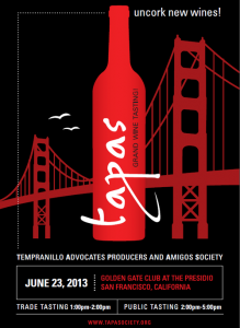 2013 TAPAS Grand Wine Tasting