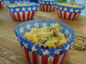 "Macaroni and Cheese ""Cupcake"""