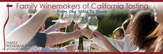 Family Winemakers of California Tasting