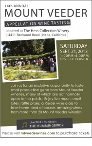 Mount Veeder Appellation Wine Tasting