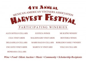 Mexican-American Harvest Festival Postcard
