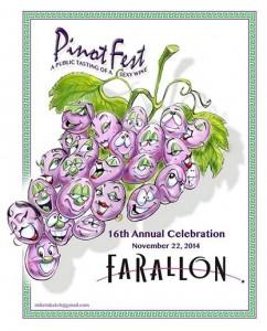 Farallon PinotFest Poster