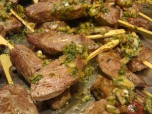 Roasted Beef Tenderloin Chimichurri