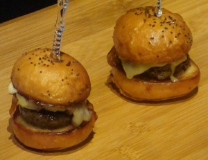 Black Truffle and Bacon Wagyu Sliders