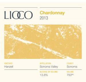 LIOCO 2013 Hanzel SV Chardonnay