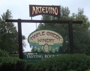 Maple Creek Winery, participating in Mendocino Crab Wine and Beer Festival