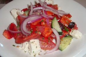 Greek Salad at Tarla