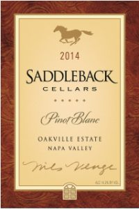 Saddleback 2014 Estate Pinot Blanc