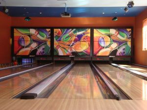 Bowling Lanes at Crush