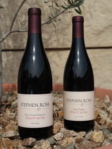 Stephen Ross Wine Cellars Pinot Noir