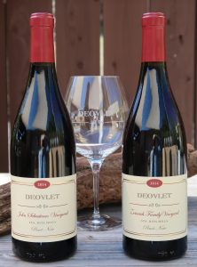 Deovlet Wines Pinot Noirs