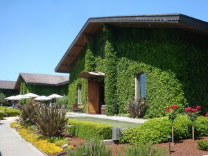 Clos Du Val, site of Vineyard to Vintner Wine Dinner