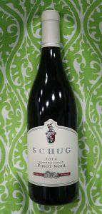 Sangiacomo Vineyard Pinot Noir from Schug