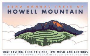 2017 Taste of Howell Mountain Postcard