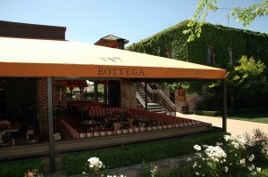 Outside Dining Area at Bottega