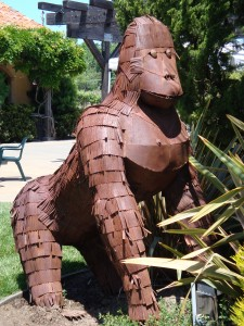 White Oak Vineyards and Winery Lawn Art