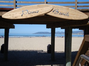 Pismo Beach, site of BubblyFest by the Sea
