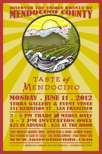 Taste of Mendocino 2012