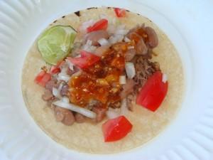 Carnitas Taco at Chacewater Winery
