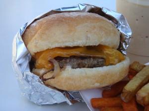 Cheeseburger from Better Burger Truck