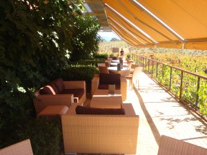 The Patio at Ridge Vineyards, a winery at Zinfandel Experience 2016
