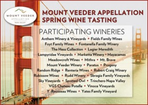 Mt Veeder Spring Wine Tasting 2013