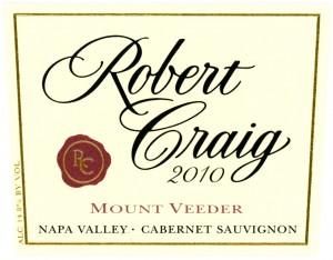 Mount Veeder Cabernet Sauvignon from Robert Craig Winery
