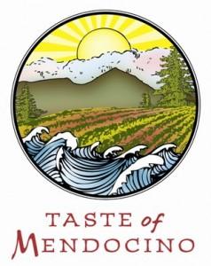 Taste of Mendocino logo