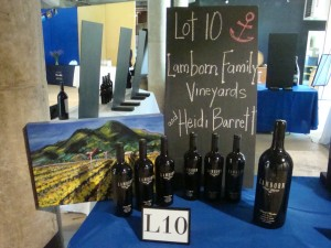 Live Auction Item at Taste of Howell Mountain