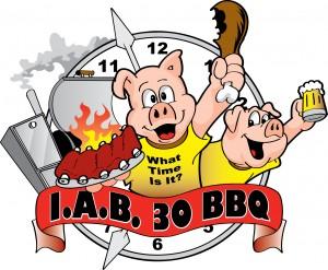 I.A.B. 30 Logo