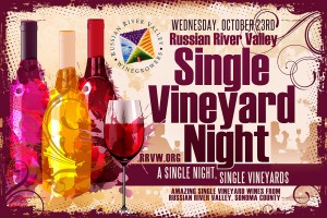 Single Vineyard Night Postcard