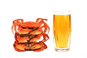 Crab and Beer