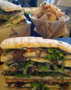 Porchetta Panini at 2013 Taste of Mendocino