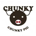Chunky Pig Logo