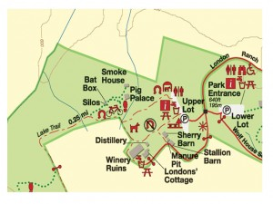 Jack London State Park Parking Map