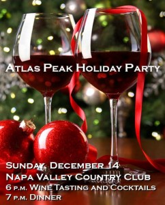 Atlas Peak Holiday Party 2014
