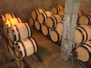 Barrel Room at El Molino