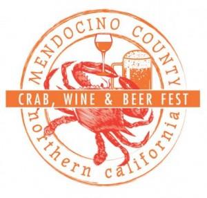 Mendocino County Crab, Beer & Wine Festival Logo