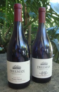 Freeman Winery, at the 2018 World of Pinot Noir
