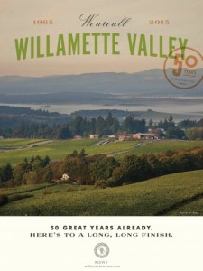 Willamette Valley 50th Anniversary Poster