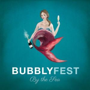 BubblyFest by the Sea Logo