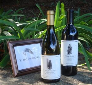 Y Rousseau Wines at Napa Valley's Mt Veeder tasting