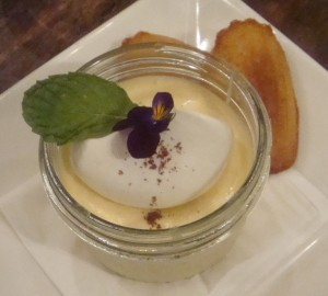 Star Anise and Honey Mousse