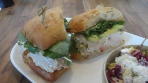 Albacore Tuna Sandwich, a Mothers Day Brunch in Napa option