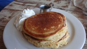 Buttermilk Pancakes, an option for Mothers Day Brunch in Napa